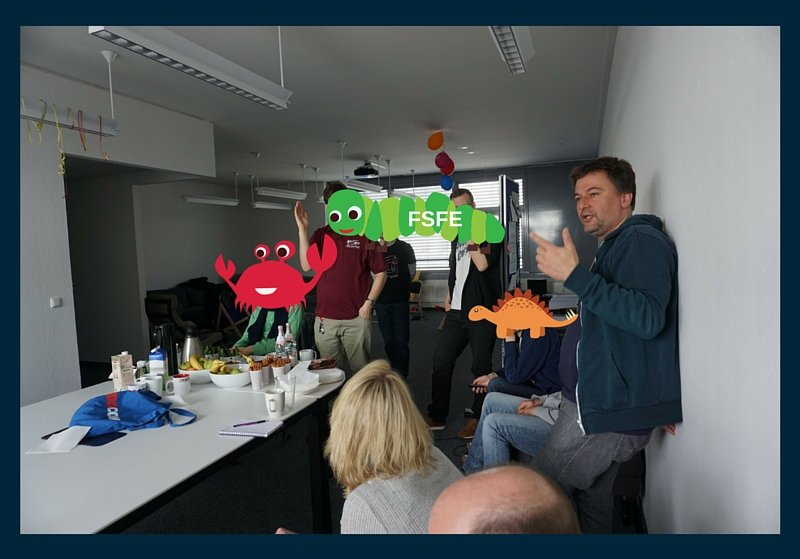 Photo from the FSFE campaign workshop